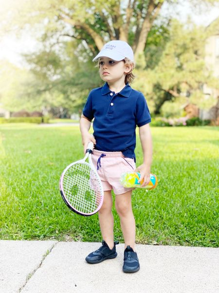 Boyce is ready for Tennis camp! Linking his racquet, tennis balls, and entire look below.   #LTKunder100 #LTKSeasonal #LTKkids