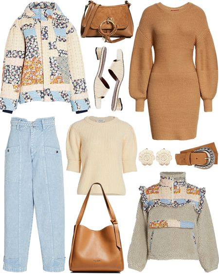 Brand spotlight on Sea 💙 Love all the pattern play in their new season arrivals! Shop these fall styles + more by following MERRITTBECK on the LTK app!   #tssedited #thestylescribe #fall #seanewyork #staud #autumn #sweaters #jackets #pattern     #LTKSeasonal