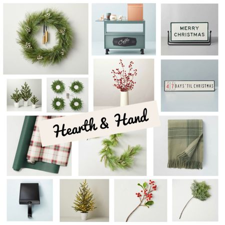 Hearth & Hand with Magnolia at Target holiday decor and Christmas favorites   #LTKunder50 #LTKHoliday #LTKSeasonal