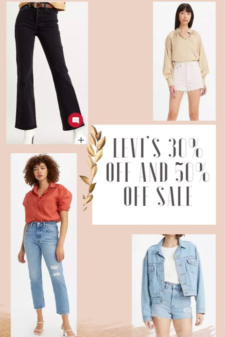 """Levi's Memorial Day sale! Use code """"smile"""" for 30% off sitewide and an additional 50% off sale. http://liketk.it/3gwF0 #liketkit @liketoknow.it"""