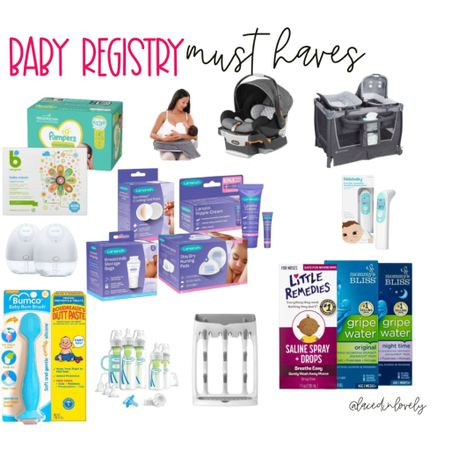 Baby registry must have items! You can read my blog post on baby registries on lacedinlovely.com  #LTKbaby #LTKbump #LTKfamily