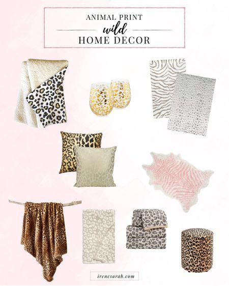 Animal print cheetah leopard zebra home decor home goods http://liketk.it/2KrqC #liketkit @liketoknow.it #LTKhome #LTKstyletip #LTKfamily
