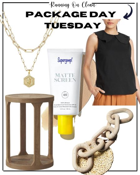 Package Day Tuesday - home finds, beauty fave, blouse - work wear    #LTKbeauty #LTKhome #LTKworkwear