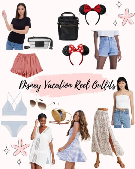 All items are linked except jean shorts but they are from Zara! I'm a small/medium in all items. For my Mickey ears, I just cut the bow off! http://liketk.it/3ei5A #liketkit @liketoknow.it #LTKfit #LTKunder100 #LTKunder50