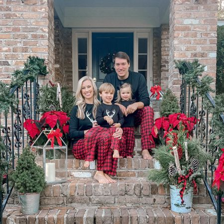 Getting in the Holiday spirit with our matching family pajamas!    Shop your screenshot of this pic with the LIKEtoKNOW.it shopping app http://liketk.it/31T40 @liketoknow.it #liketkit @liketoknow.it.family @liketoknow.it.home #StayHomeWithLTK #LTKfamily #LTKunder50