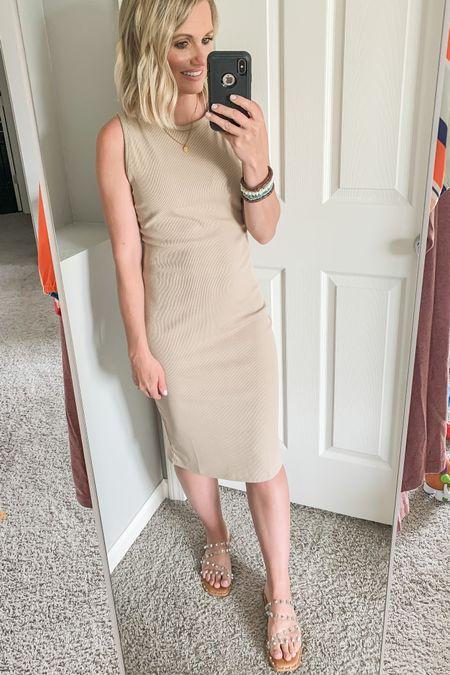 Amazon find. Amazon midi dress. Size small. Fits TTS!   #LTKworkwear #LTKstyletip #LTKunder50