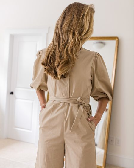 My absolute favorite jumpsuit I've ever purchased is $100 off! It's a splurge even at the sale price, but this is seriously such a beautiful, well-designed piece and very unique when it comes to jumpsuits.  I've styled it with sandals and would wear it with ankle booties in a transitional look! #rebeccataylor #jumpsuit   #LTKSeasonal #LTKsalealert