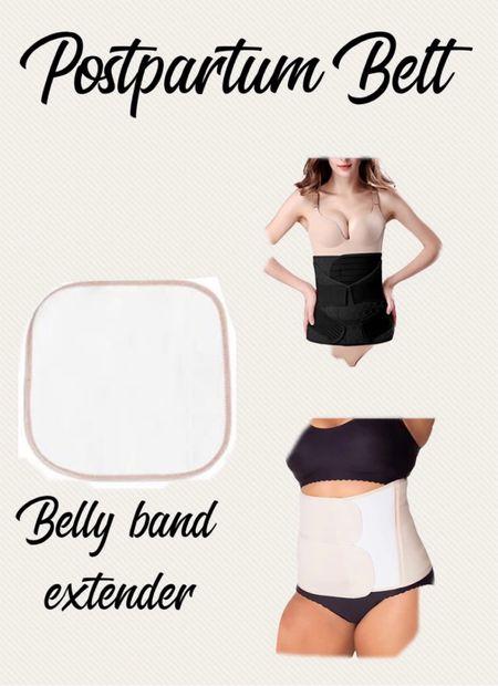 Postpartum belt, belly band extender, belly bandit, postpartum care   #LTKfamily #LTKbump #LTKbaby