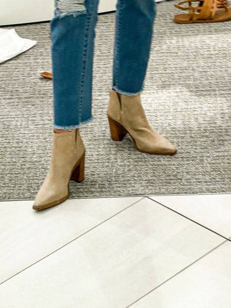 Nordstrom Anniversary Sale Fall boots white booties Date outfit NAS Sale And sale Oversize sweater Jeans Denim Good American Knit Athletic shoes Spanx  #LTKSeasonal #LTKsalealert #LTKshoecrush