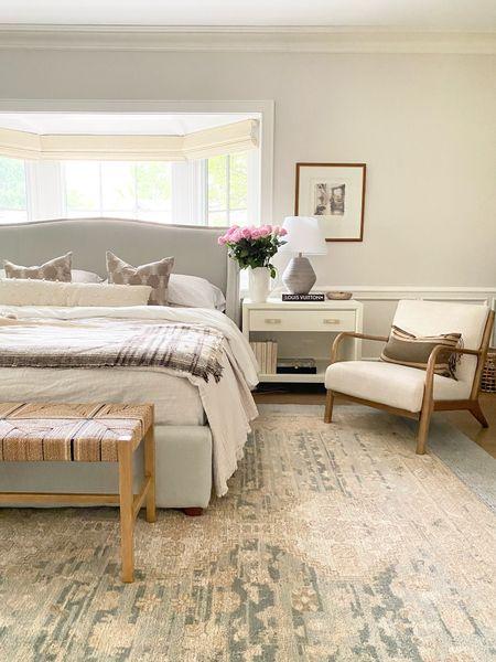 Bedroom details furniture bed rug rugs  #LTKunder100 #LTKsalealert #LTKhome