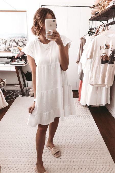 Love this under $50 tiered dress. @liketoknow.it http://liketk.it/3gGVS #liketkit #LTKunder50 #LTKstyletip #LTKunder100