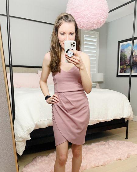 Forever Your Girl mauve dress is a perfect Valentine's Day dress ❣️ Wearing size Small.  http://liketk.it/374KR #liketkit @liketoknow.it #LTKSeasonal #LTKVDay #StayHomeWithLTK