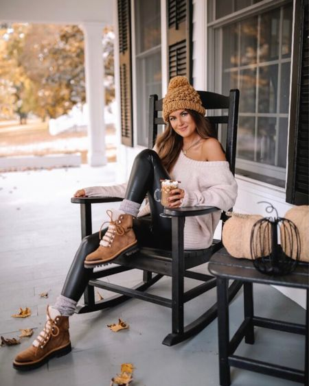 The Coco Leather Leggings Black  XS, TTS, cmcoving, Caitlin Covington, Pink Lily Collection, fall fashion, use code CAITLIN20 for 20% off!   #LTKsalealert #LTKunder50 #LTKSeasonal