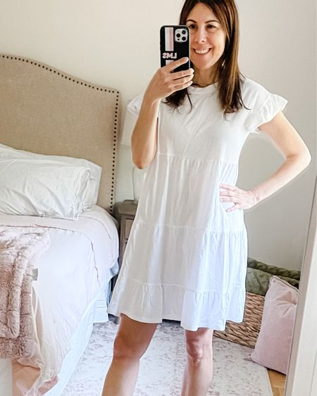 ❤️ I missed out on this dress last year so I made sure to get it this year. I'm wearing an XS but it's a little big so I'm going to order the XXS.  It comes in 5 colors. You can wear it to run errands or as a beach cover up. ❤️  #sojcrew  #jcrewstyle  #personalshoppernj    http://liketk.it/3gTNX #liketkit @liketoknow.it #LTKswim #LTKunder50