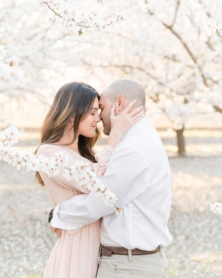 Cannot let this day go by without our #TravelTuesday post! The countdown is on till we are back in these BLOOMS with some amazing couples & families this year!!!   http://liketk.it/37tUp #liketkit @liketoknow.it #almondblossoms #engagementoutfit