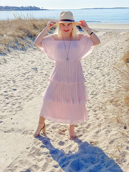 Pretty in pink from Lulu's this dress comes in several colors and fits tts wearing a small.  I also am linking similar styles from Pink Lily and Amazon.   #LTKSpringSale #LTKwedding #LTKSeasonal