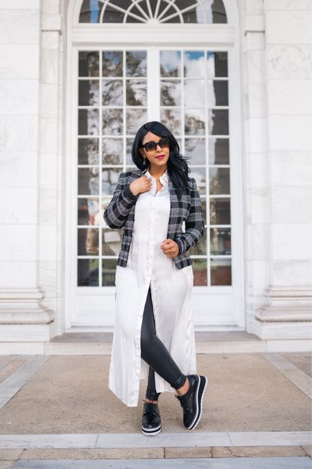 Friday just called. She's on her way, and she's bringing the wine! 🍷 Whew, what a long week. Cheers to the weekend! #whatshaute #TGIF   You can instantly shop my looks by following me on the LIKEtoKNOW.it shopping app. You can shop this look via http://liketk.it/31DJO #liketkit @liketoknow.it / 📸: @praya1