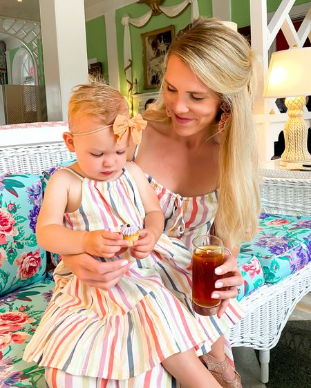 Love matching my bestie in these striped maxi dresses! This sweet mom and daughter matching set is on sale! http://liketk.it/3iRyO #liketkit @liketoknow.it #LTKkids #LTKfamily #LTKsalealert