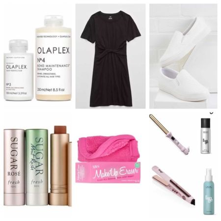 When Victoria @styledinworth asked me to round up my 6 picks for a Friday feature, I picked 6 items that I can't live without. If I could only recommend 6 things to you guys, these are it! A staple outfit that flatters any figure and any age and will never go out of style, the best hair products, a game changing makeup remover, and the softest lips on earth! What more does a girl need?! ❤️ #sixpicks #stapleoutfit #timelessoutfit #figureflattering #langehair #olaplex #skincare http://liketk.it/39MTZ #liketkit @liketoknow.it