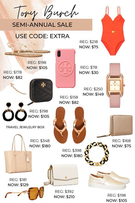 Tory Burch is having their Semi-annual sale right bow. Discounted extra with code: EXTRA #LTKsalealert #liketkit @liketoknow.it http://liketk.it/3hTye