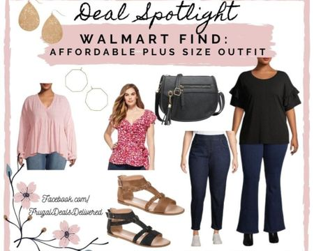 Some plus size spring summer outfit inspiration - with affordable pricing is a win in my book! Walmart finds for the win! Which piece is your favorite? Get ready for your spring break vacation, date night or a cute outfit for work or weekend!   Screenshot this pic to get shoppable product details with the LIKEtoKNOW.it shopping app http://liketk.it/39ivC #liketkit @liketoknow.it #LTKunder50 #LTKsalealert #LTKstyletip @liketoknow.it.family