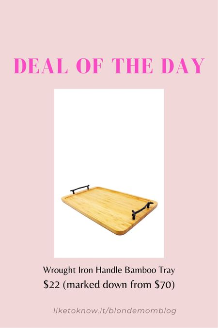 ❤️ to entertain? Nordstrom Rack has so many great serving pieces on sale!  #nordstrom #nordstromrack #tray #servingtray #bamboo  #LTKunder100 #LTKhome #LTKunder50