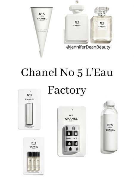 Chanel No 5 Factory Collection featuring No 5 L'Eau and other items on this post.   #LTKbeauty http://liketk.it/3j0UN #liketkit @liketoknow.it