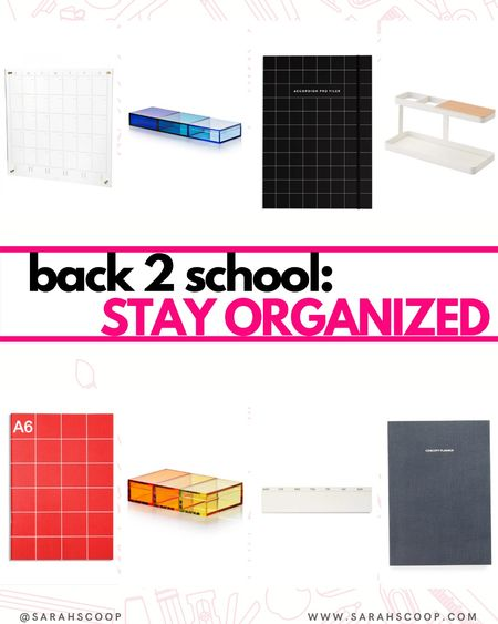 It is important to stay organized in order to do your best in school!  Writing in a planner or calender will keep you focused and on track into the new school season 📚🏫  #LTKsalealert #LTKunder50 #LTKSeasonal