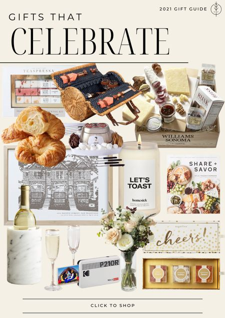 Holiday gift guide, Christmas gifts, gift baskets, personal gift, candle, cookbook and more 🌲  #LTKunder100 #LTKGiftGuide #LTKhome