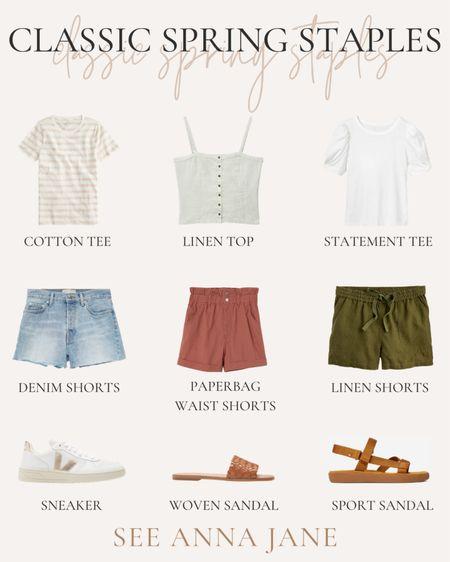 Shorts and top capsule wardrobe under $100 http://liketk.it/3fHs2 #liketkit @liketoknow.it #LTKunder50 #LTKunder100