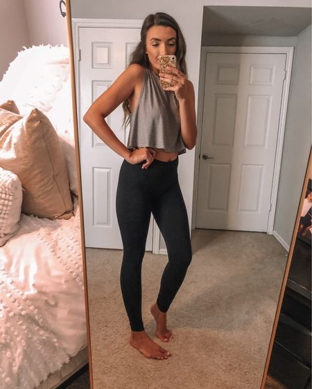 Reviewing black leggings today on the blog and stories. We love a good pair of black leggings and decide to try different pairs to see what works best for us tall girls. http://liketk.it/2RcNd #liketkit @liketoknow.it #StayHomeWithLTK #LTKfit