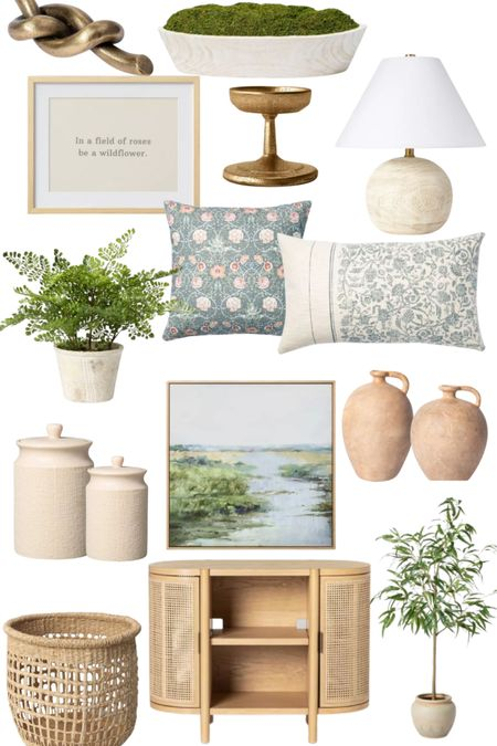 Studio McGee decor and furniture  Target finds Lamp Canisters Faux plants Pillows Spring decor Storage basket   http://liketk.it/369xE @liketoknow.it @liketoknow.it.home #liketkit #LTKSeasonal #LTKunder100 #LTKhome