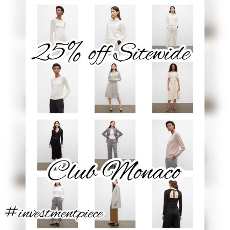 Get 25% off every thing @clubmonaco including these perfect work outfits! #investmentpiece   #LTKstyletip #LTKsalealert #LTKworkwear