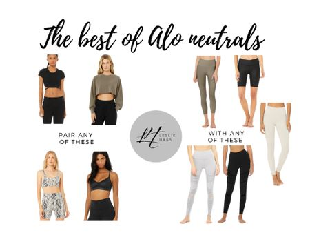 The best of Alo's weekend sale — and they're all neutrals to mix and match.  Welcome to my summer wardrobe + favorite athletic wear and athleisure.   Sometimes worn to yoga, sometimes just bumming around!   http://liketk.it/3g9tP #liketkit @liketoknow.it #ltksummer #ltkseasonal