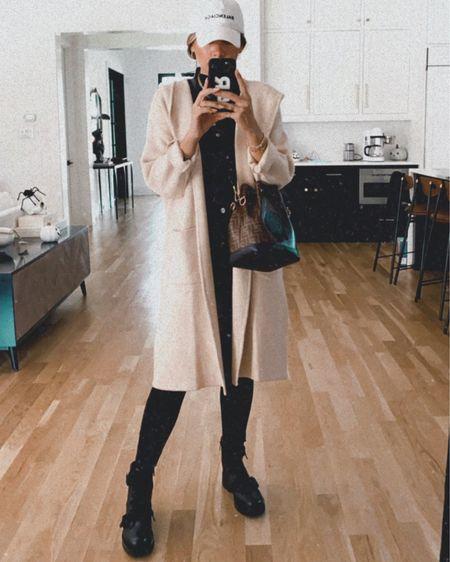 beige cardigan outfit 🖤 http://liketk.it/2ZvSl #liketkit @liketoknow.it  cardigan has an oversized fit — I'm in a small