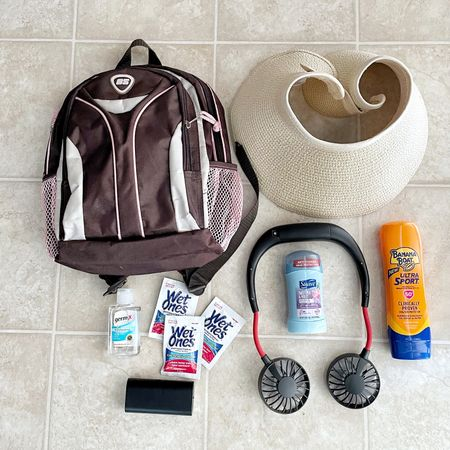 The weather is warming up so we're spending more time outside whether it's the hiking trail or amusement park. When I'm spending ally day outside here are some of my favorite things to pack. You can find them all at Amazon or Target.  #liketkit @liketoknow.it http://liketk.it/3dwWe