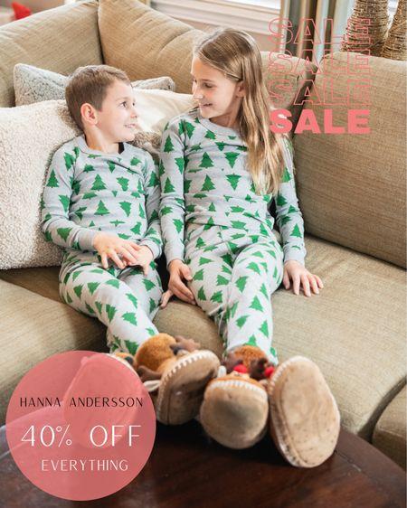 Hanna Andersson 40% off everything   Holiday  Christmas  Slippers Children Pajamas   #LTKkids #LTKHoliday #LTKSeasonal