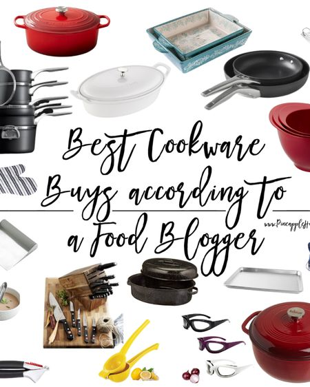 It's hard to find good help anywhere, but especially in the kitchen! That's why I've rounded up my favorite cookware items that I use daily. Each of these products are things I own and use when I'm whipping up something yummy!    http://liketk.it/3bIbY #liketkit @liketoknow.it #LTKhome #LTKfamily @liketoknow.it.home @liketoknow.it.family