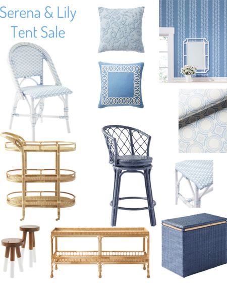 Here are some of my favorite pieces from the Serena & Lily Tent sale, including some iconic pieces like the Riviera outdoor bench and Monaco bar cart http://liketk.it/3jjmg #liketkit @liketoknow.it