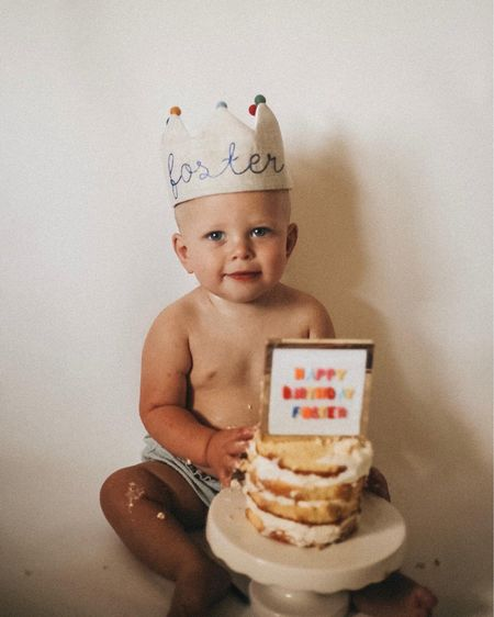 Baby boy first birthday accessories   #LTKbaby #LTKkids #LTKfamily