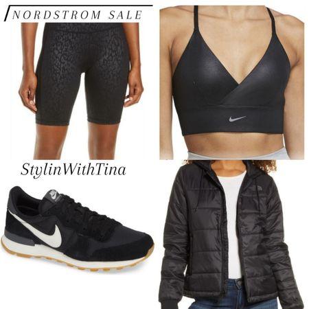 Nordstrom sale outfit ideas. Athleisure wear. #bikershorts#sportsbra#sneakers #jacket http://liketk.it/3jGnK #LTKsalealert #LTKstyletip #LTKunder50 #LTKunder100 #LTKshoecrush #LTKworkwear #LTKwedding #LTKtravel #LTKitbag #LTKfit #LTKcurves #LTKbeauty @liketoknow.it #liketkit
