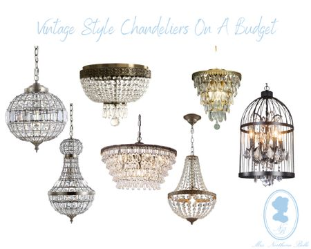 I'm obsessed with a good vintage looking chandy! Linking some budget friendly options! All under $250!   #LTKhome #LTKeurope #LTKSeasonal