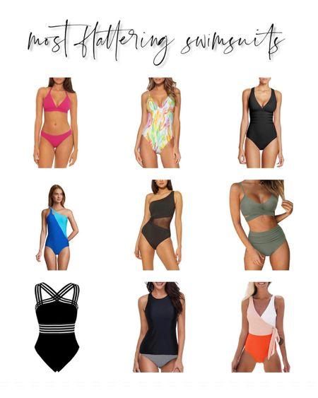 Most flattering swimsuits bathing suits one pieces tankinis and Amazon fashion bikinis http://liketk.it/3hhQq #liketkit @liketoknow.it   #LTKstyletip #LTKswim #LTKunder100