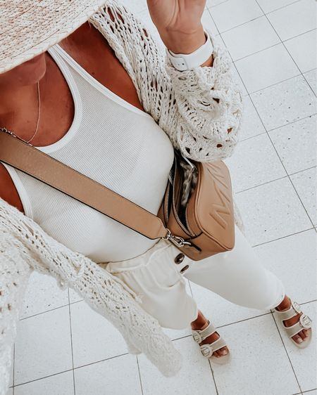 Travel outfit, leatherology bag, summer outfit, summer sandals, white top @liketoknow.it http://liketk.it/3hyEg #liketkit
