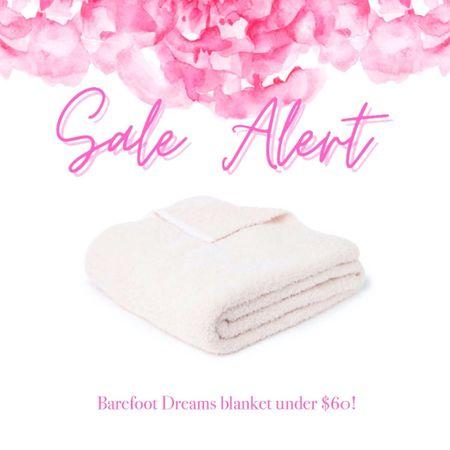 Barefoot Dreams blankets on sale! Under $60!   #LTKhome #LTKsalealert #LTKunder100