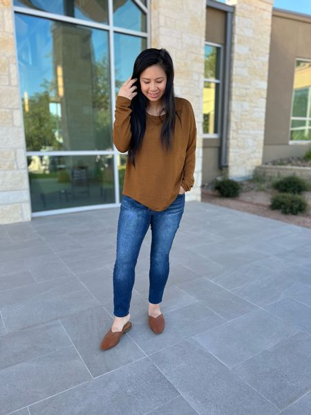 Wishing it was sweater weather although it is finally in the 70s and possibly 60s next week!  I can't wait….so in the meantime I'll make do with this comfy fall colored outfit that'll be worn on repeat that I got for under $20!  (Well if you count shoes then $45).  Linked it in the LTK app for easy shopping!    #liketkit #ltkseasonal #momof6 #momlifestyle #bigfamilylife #happymama #txmom #cozyvibes #ohhappyday #fallishere #falloutfit #acupofmotherhood #familytimeisthebesttime #momtips #makingthebestofit #lifewithlittles #acupofmotherhood #militarywife #comfyoutfit #fallvibes #sunshineday #mamastyle #familyislove #targetstyle #fallinspo #everydaymoments   #LTKsalealert #LTKstyletip #LTKSeasonal