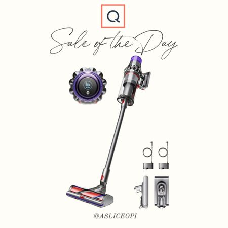 📷 Sale of the Day! Cordless Dyson vacuum cleaner is now $100 off on QVC! http://liketk.it/3l2Ol #liketkit @liketoknow.it