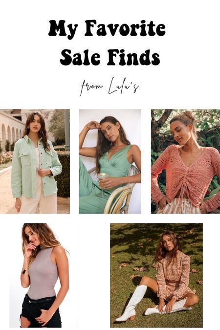 Lulus 30% off sale finds! Dresses, jackets, tops and more! #liketkit http://liketk.it/3gkh9 @liketoknow.it #LTKtravel #LTKunder50 #LTKsalealert