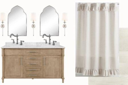 French inspired bathroom remodel    #LTKhome