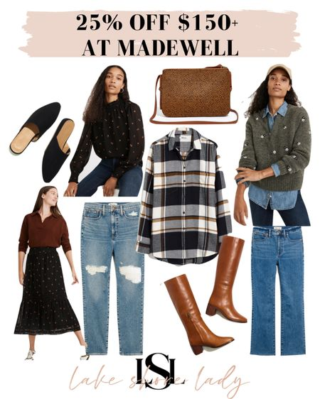 25% off $150+ at Madewell! Click on an item and copy the promo code!   #LTKSeasonal #LTKsalealert